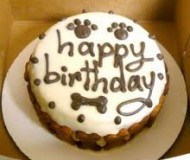 dog birthday cake 1